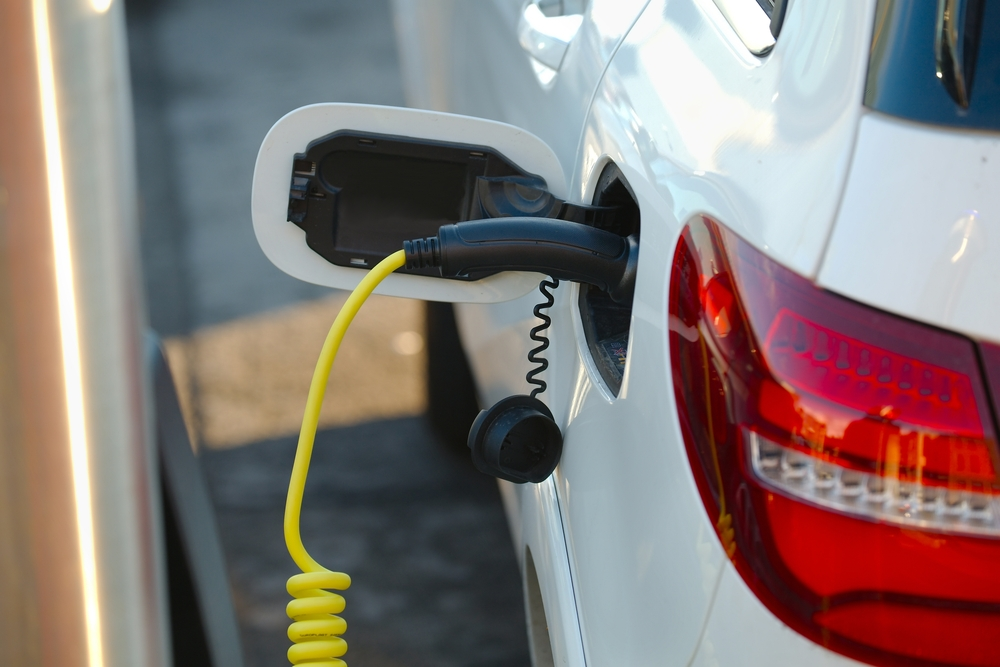 commercial ev car charging picture